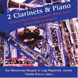 2 Clarinets & Piano: Original Music from Finland, Malta, Israel and points in between