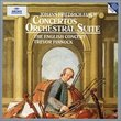 Fasch: Concertos; Orchestral Suite /English Concert * Pinnock
