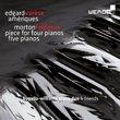 Edgard Varese: Ameriques; Morton Feldman: Piece for Four Pianos; Five Pianos