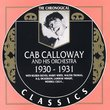 Cab Calloway 1930-1931