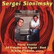 Sergei Slonimsky: Preludes and Fugues, Book 1