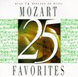 25 Mozart Favorites
