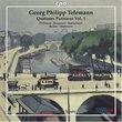 G.P. Telemann: Quatuors Parisiens, Vol. 1