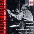 Hanns Eisler: Vocal Symphonic Music
