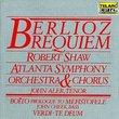 Berlioz: Requiem; Boito: Prologue to Mefistofele