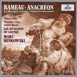 Rameau - Anacréon · La Berger fidèle / Félix · Gens · Massis · del Pozo · Les Musiciens du Louvre · Minkowski