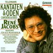 Telemann: Cantatas & Odes / Jacobs