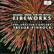 Handel: Music for the Royal Fireworks (original version 1749) / Pinnock, The English Concert
