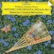 Mozart: Sinfonia Concertanti K.364 & 297b