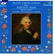 Franz Joseph Haydn: Four Baryton Trios (Volume1)