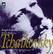 Tchaikovsky The Complete Songs Volume 1
