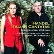 Magdalena Kozená ~ Handel Italian Cantatas / Les Musiciens du Louvre, Minkowski