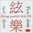 String Quartets 4,6,7,8