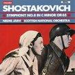 Shostakovich: Symphony No. 8 in C minor, Op. 65 - Neeme Järvi / Scottish National Orchestra