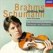 Brahms, Schumann: Violin Concertos / Bell, Dohnanyi