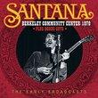 Santana - Berkeley Community Center 1970