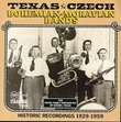 Texas-Czech Bands, 1929-1959