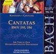 Bach: Cantatas, BWV 193, 194