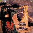 Thompson: String Quartets 1 and 2; Hanson: String Quartet