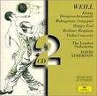 Weill: Concerto for violin Op. 12 (1924); Berliner Requiem (1929); Dreigroschenoper Suite; Mahaggony Singspiel; Happy End (singspiel) (1929); Pantomime (1925); Death in the Forest Op. 23 (1927)