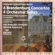 Johann Sebastian Bach: 6 Brandenburg Concertos / 4 Orchestral Suites - The English Concert / Trevor Pinnock