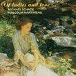Of Ladies & Love Song Recital