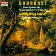 String Quartet 2 / Piano Quintet