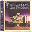 Salamone Rossi: The Songs of Solomon Vol. 2: Holiday and Festival Music