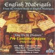 English Madrigals: Sing We At Pleasure