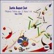 Just: Piano Trios, Op 2 Nos 1-6 /Trio 1790