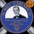 Bill Carlsen: 1926-1931