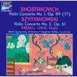 Shostakovich Violin Concerto No 1 op 99; Szymanowski Violin Concerto No 2 op 61 (Vox)