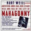Weill: The Rise And Fall Of The City Of Mahagonny / Latham-Konig, Silja, Schlemm, Neumann