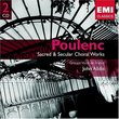 Poulenc: Sacred & Secular Choral Works
