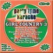 Party Tyme Karaoke: Girl Country 3