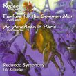 Copland: Rodeo, Fanfare; Gershwin: An American in Paris / Kujawsky, Redwood SO