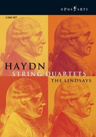 Haydn - String Quartets / The Lindsays, Kuhmo Chamber Music Festival