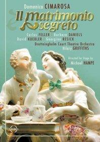 Cimarosa - Il Matrimonio Segreto / Barbara Daniels, David Kuebler, Carlos Feller, Claudio Nicolai, Hilary Griffiths, Schwetzinger Festspiele