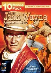 John Wayne: American Hero 10 Movie Pack
