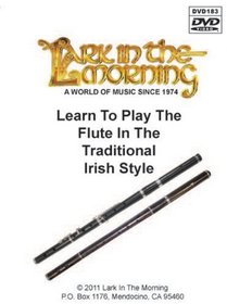 Learn to Play the Flute in the Traditional Irish Style DVD