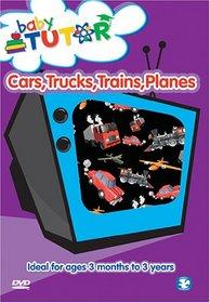 BABY TUTOR - Cars Trucks Trains Planes
