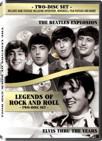 Legends of Rock & Roll 2-Disc Set - The Beatles Explosion and Elvis Thru the Years