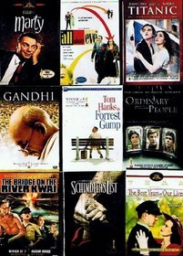 Best Picture Oscar Collection (9-Pack, 13-Disc): All About Eve (2-DVD, 1950) / Forrest Gump (2-DVD, 1994) / Ordinary People (1980) / Titanic (2-DVD Collector's Set, 1997) / The Best Years of Our Lives (1946) / The Bridge On The River Kwai (1957) / Marty (
