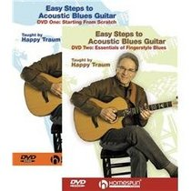 Homespun Easy Steps to Acoustic Blues Guitar 2 DVD Set