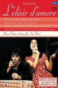 Donizett - L'Elisir d'Amore / Alagna, Gheorghiu, Scaltriti, Alaimo, Pido, Lyon Opera (Special Edition with Highlights CD)