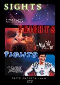 Sights, Frights, and Tights (Communion / The Howling III - The Marsupials / The Return of Captain Invincible)