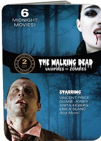 The Walking Dead: Vampires vs. Zombies (Fangs of the Living Dead / Grave of the Vampire / The Devil's Nightmare / Zombie Hell House / Night of the Living Dead / The Last Man on Earth)