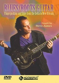 DVD-Blues/Roots Guitar-Fingerpicking & Slide From Delta to New Orleans