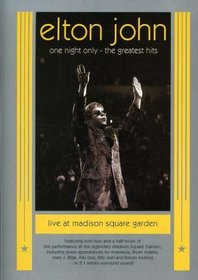 Elton John - One Night Only (The Greatest Hits Live at Madison Square Garden)