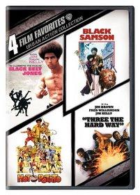 Urban Action Collection: 4 Film Favorites (Black Belt Jones / Black Samson / Hot Potato / Three the Hard Way)